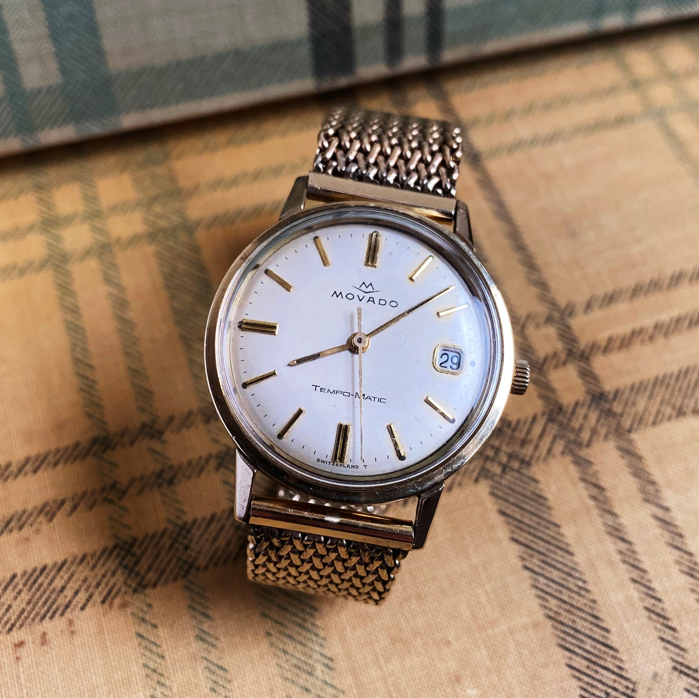 Movado Automatic Watch c1960