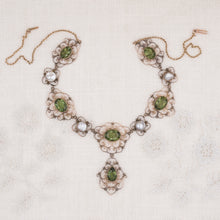 Georgian Green Paste Necklace c1780
