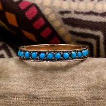 Persian Turquoise Eternity Band c1930