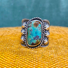 Navajo Turquoise Ring by Albert Cleveland c1980
