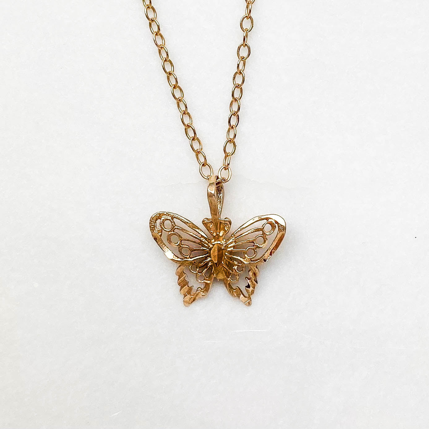 Vintage Butterfly Charm