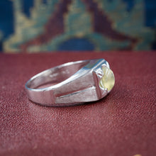 Cat's Eye Chrysoberyl Ring c1950