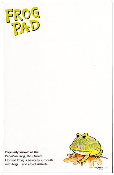 t) Pac-man Frog