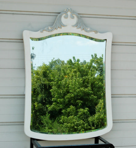 Antique French Country Mirror