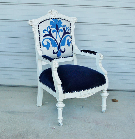 Antique Eastlake Arm Chair