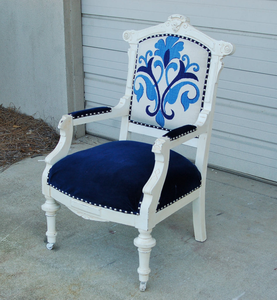 Antique Eastlake Arm Chair - Antique Eastlake Arm Chair - Repeat Offenders Inc.