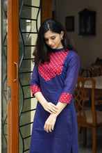 Load image into Gallery viewer, Taara Blue Kurthi