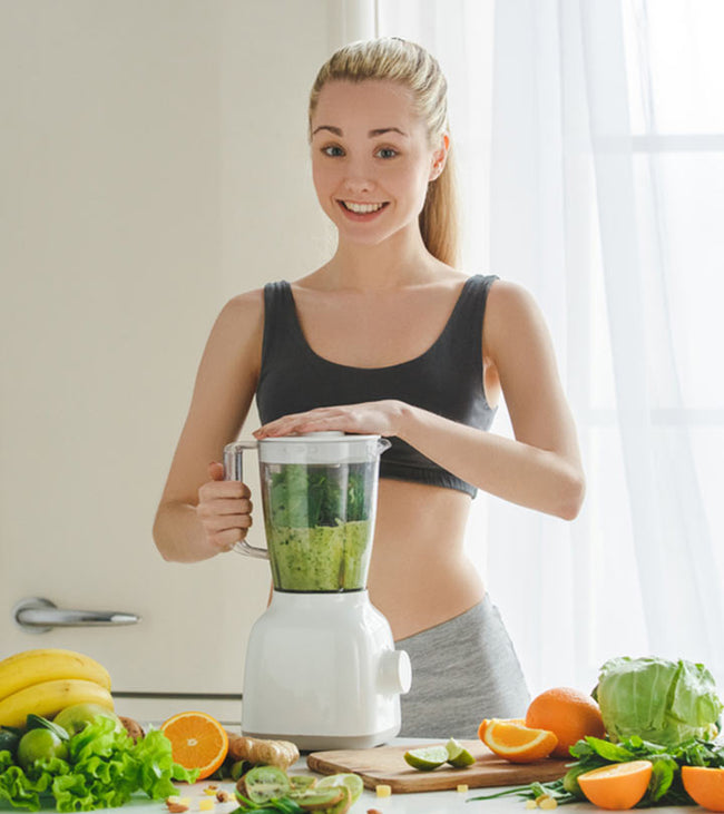 Benefits of Chlorophyll, Vitamin C and Turmeric for Your Immune System by Sofia Norton, RD