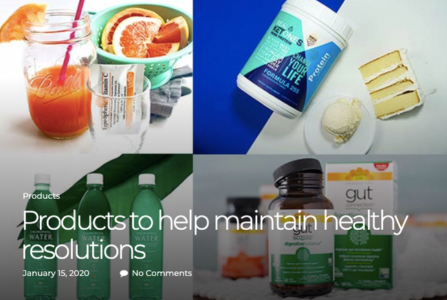 Products to Help Maintain Healthy Resolutions [Simply Gluten Free Magazine]