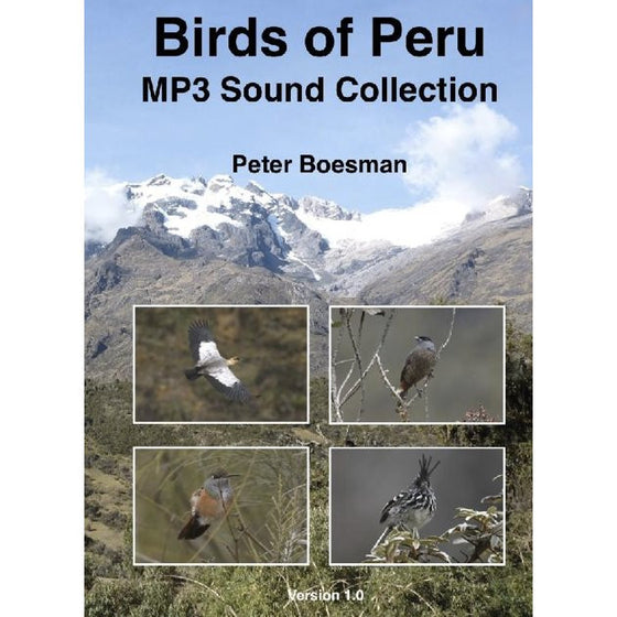Birds of Peru, MP3 Sound Collection
