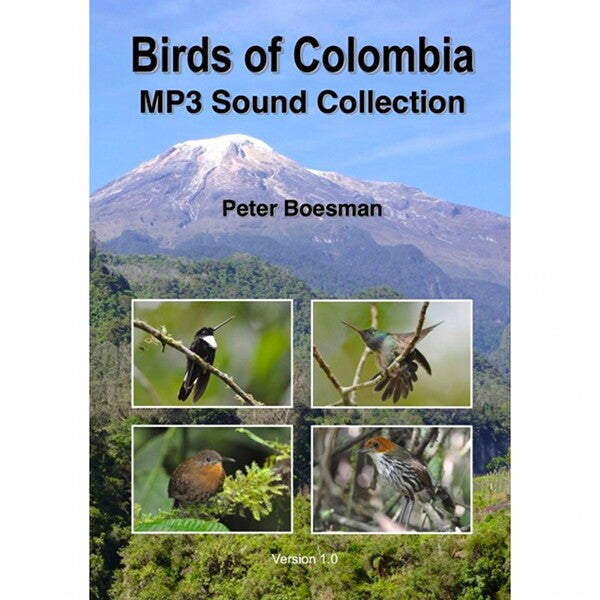 Birds of Colombia, MP3 Sound Collection
