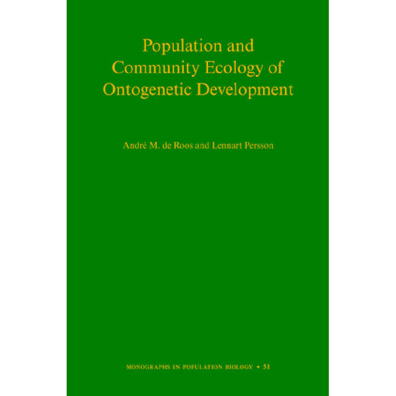 Population and Community Ecology of Ontogenetic Development