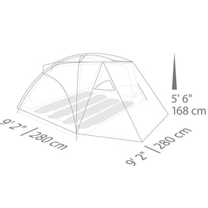 Tent Eureka! Suite Dream 4 Sleep