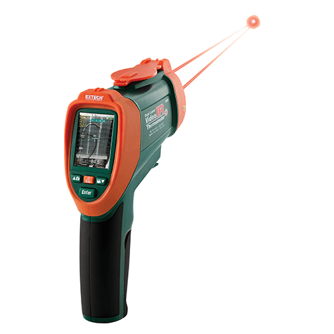 Extech Dual Laser IR Video Thermometer VIR50