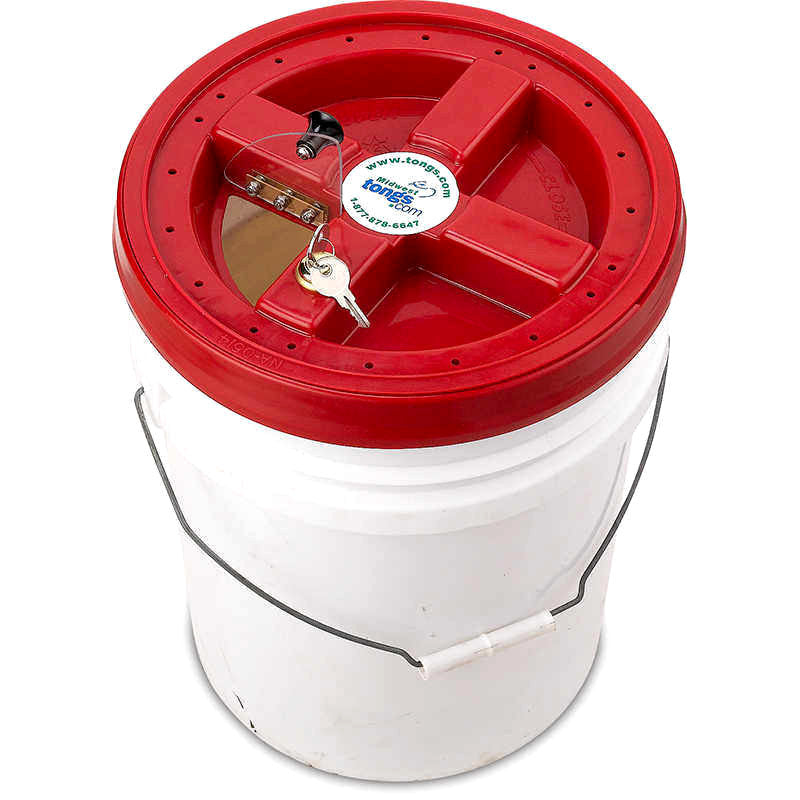 Midwest Tongs Security Cap for 5-Gallon Buckets