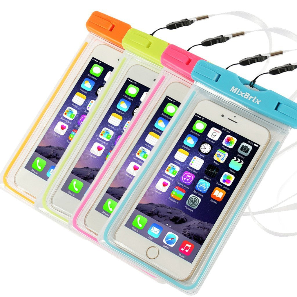 Mixbrix Universal Waterproof Cases for Smartphones