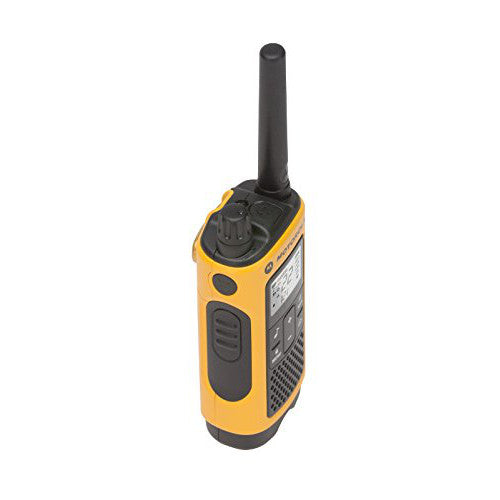 Motorola Talkabout T400 35 Miles Rechargeable Two-Way Radio x 2 u.
