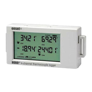 Onset Data Logger for HOBO UX120 Four Channel Thermocouples