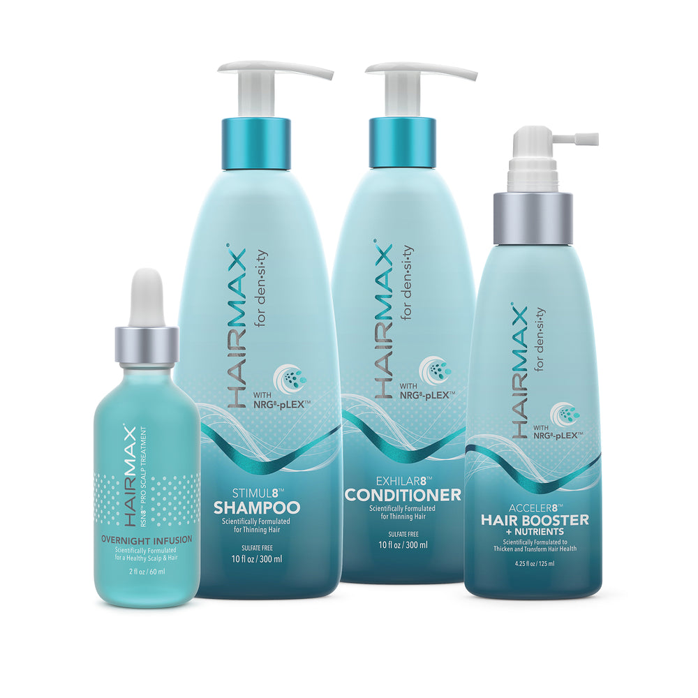 Hairmax Hair Care System (4 Piece Bundle)