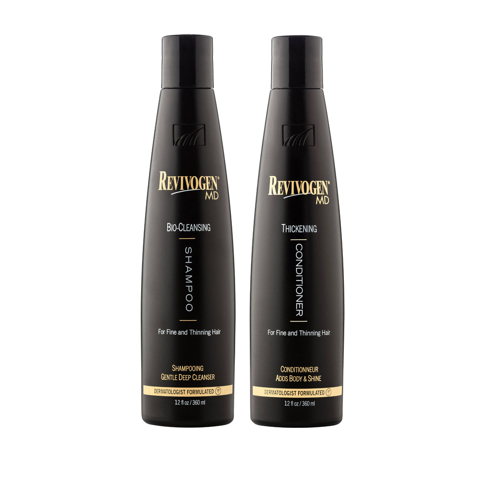 Revivogen MD Bio-Cleansing Shampoo & MD Thickening Conditioner