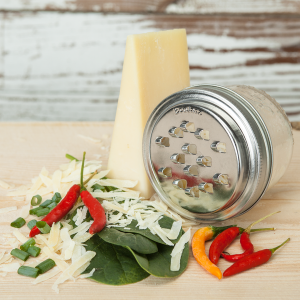 Mason Jar Cheese Grater