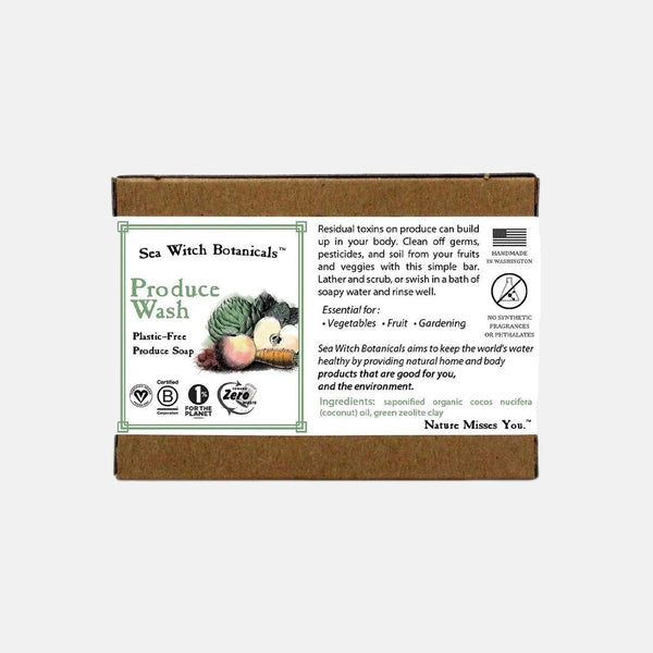 Produce Wash Bar Soap