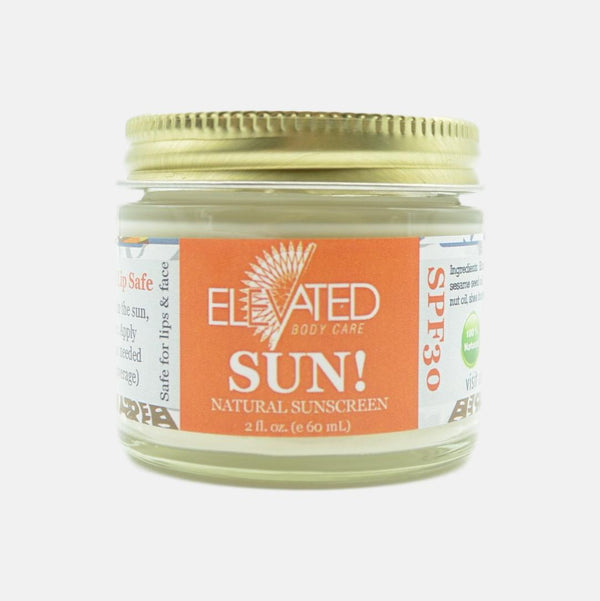 Elevated Natural Sunscreen