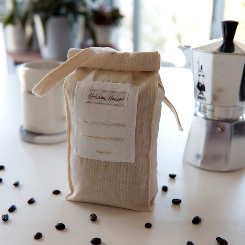 Reusable Cotton Coffee Bag - Plastic Free Pursuit