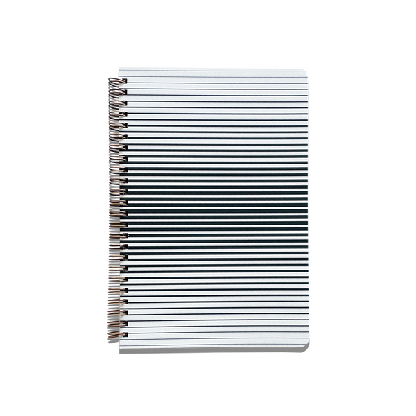Recycled Paper Journal - Optic Stripe