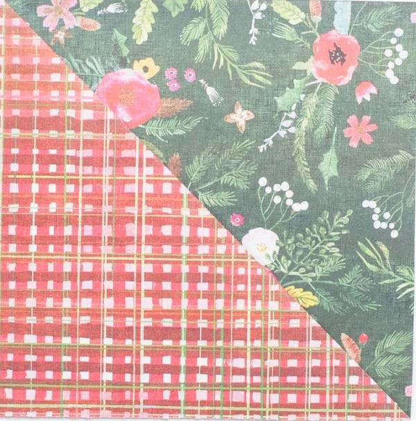 Eco Gift Wrap - Red Plaid