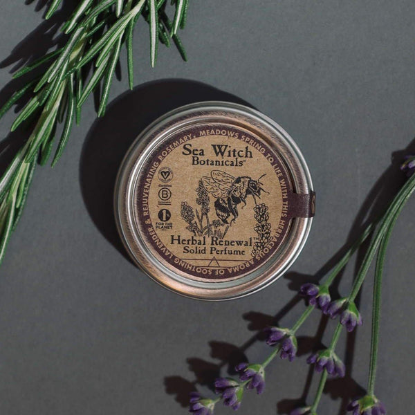 Solid Perfume - Herbal Renewal