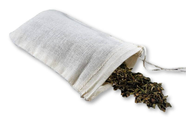 Reusable Cotton Tea Bags - Plastic Free Pursuit