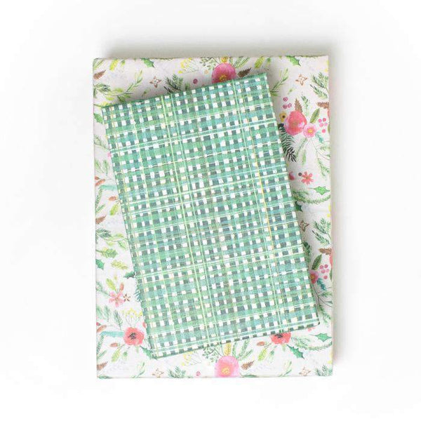 Eco Gift Wrap - Winter Floral