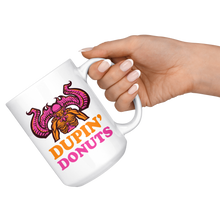 Load image into Gallery viewer, Dupin' Donuts Hot Beverage Mug