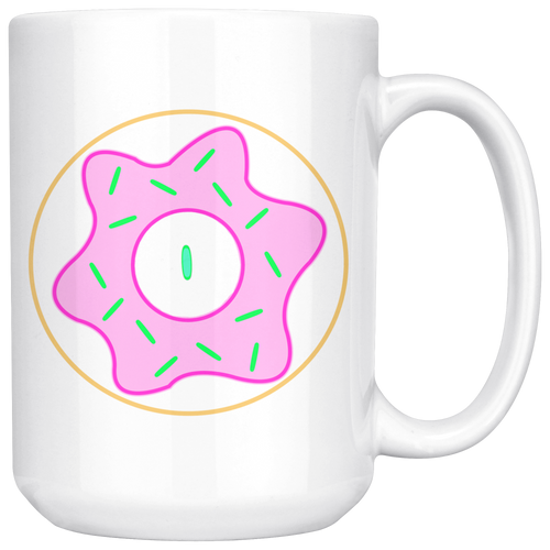 North End Rhyno's Strawberry Doughnut Reticle BIGMUG