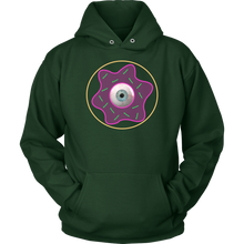 Load image into Gallery viewer, EYESEEYOU Doughnut Reticle Sweatshirt with iDupe4u Sprinkles