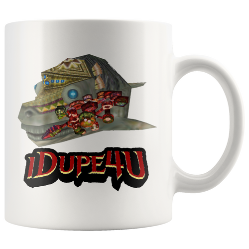 Lord Jabu Jabu's Belly Map Mug