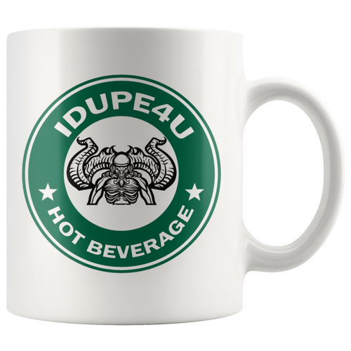 iDupe4uBucks Hot Beverage Cup with Side Handle
