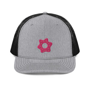 Doughnut Reticle Trucker Cap