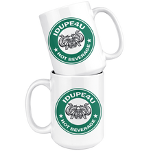 Load image into Gallery viewer, iDupe4uBucks Hot Beverage Cup with Side Handle