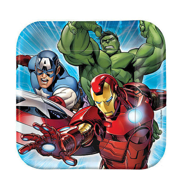Avengers Paper Plates (Small)  sc 1 st  My Little Party & Avengers Party Hire in Auckland | My Little Party