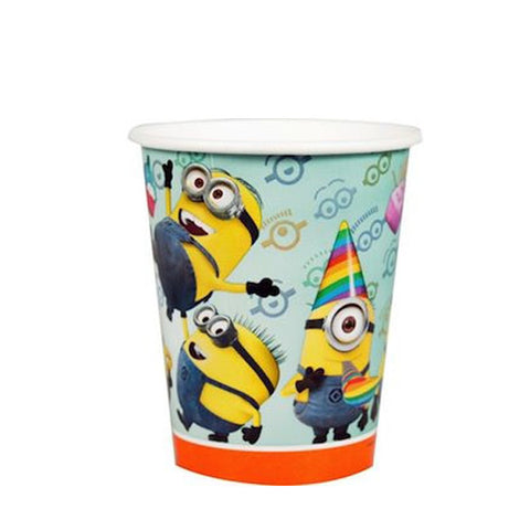 Minions Paper Cups