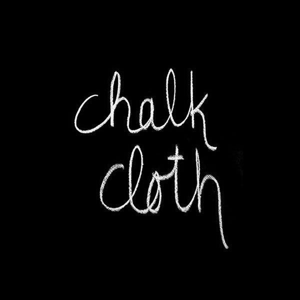 Oilcloth - Black Chalk