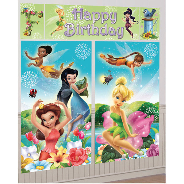 Tinkerbell Wall Decorating Kit.