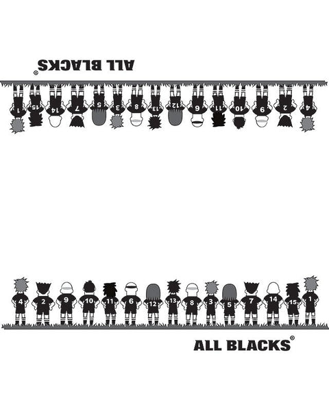 All Blacks Party Napkins