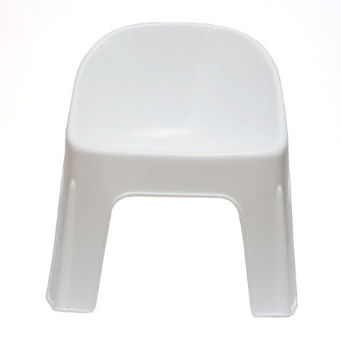 Kids white chair