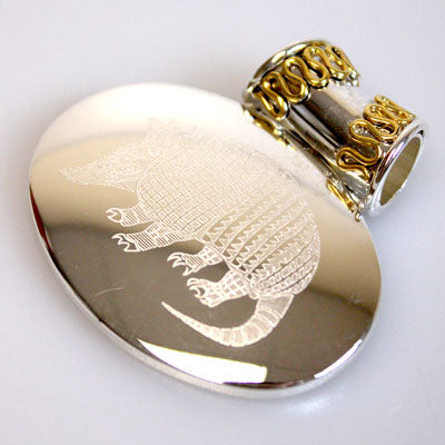 Armadillo Western Pendant for Necklace