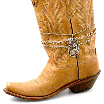 Pendant Horseshoe Heart Boot Jewelry