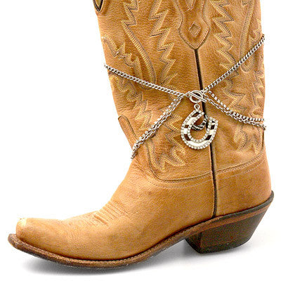 Western Boot Bling Chain