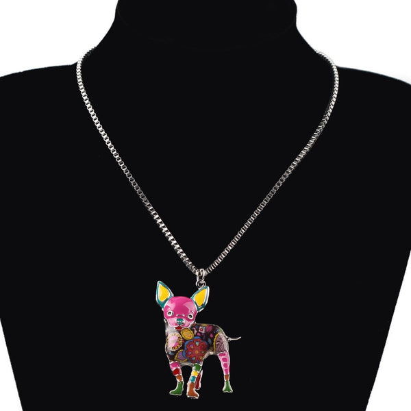 Best In Show Chihuahua Pendant Necklace
